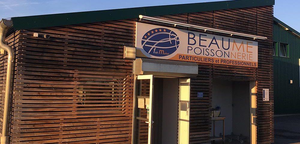 La Poissonnerie Beaume - Vente de poisson frais pour particuliers et professionnels